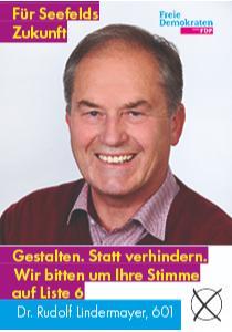 Dr. Rudolf Lindermayer